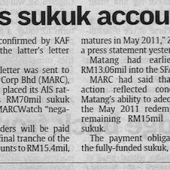 The Star 20 Jan 2011 - Zecon Sukuk