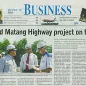 Zecon News On Borneo Post 16 July 2011 - Page 1 of 2