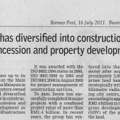 Zecon News On Borneo Post 16 July 2011 - Page 2 of 2