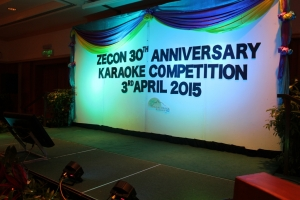 ZECON 30th Anniversary Karaoke Competition